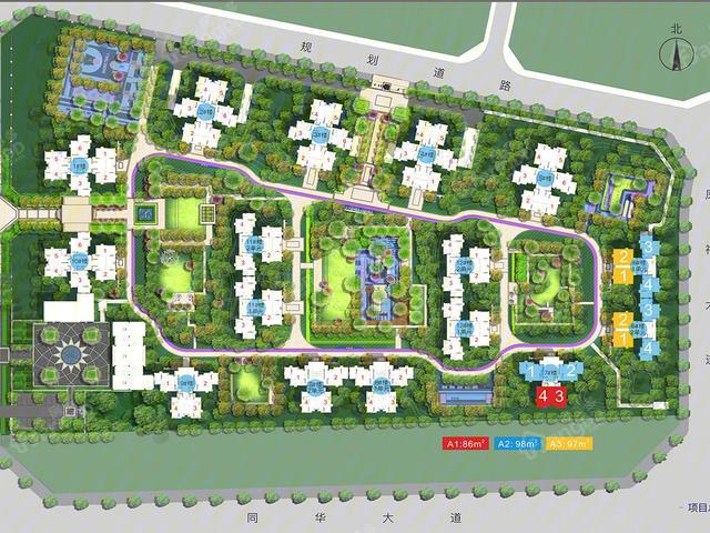 成都青白江万科碧桂园公园大道丨跟随城市的选择!
