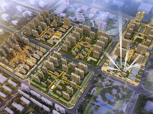 临渭人气新房富力城 置业渭南的不二之选