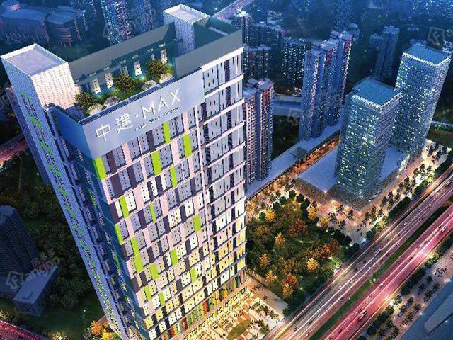 户型合理,环境优美 置业西安西咸新区首选中建MAX