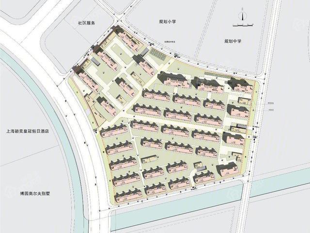 环境优美,户型方正 上海万科·西郊都会项目特色一览