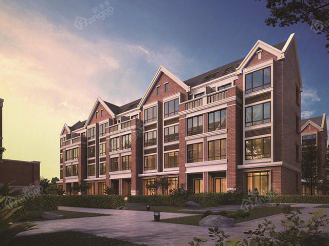 优质新房招商海德名门红墅林 留在上海宝山的绝佳之选