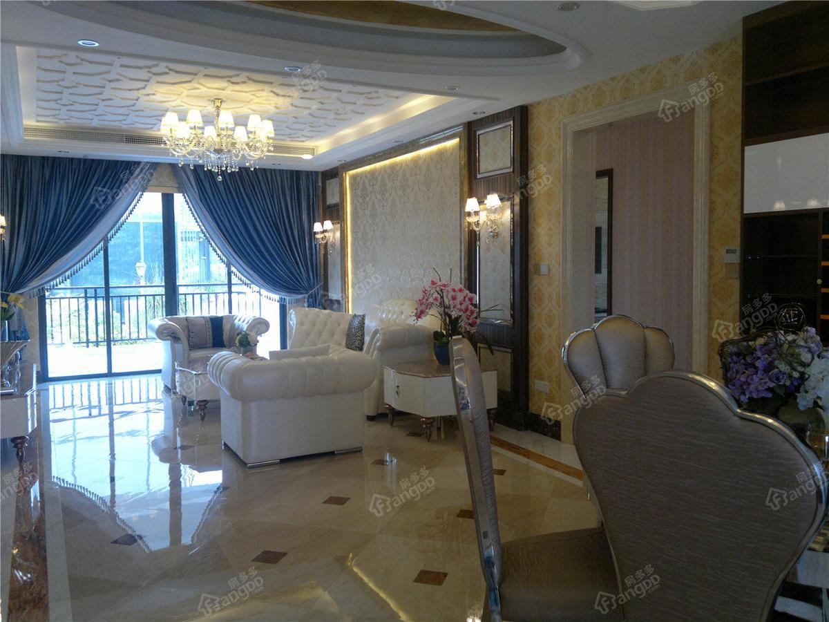 华夏金沙湾3室2厅2卫户型图