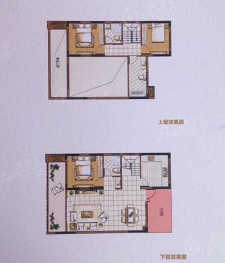 十里蓝山悦诚3室2厅3卫户型图