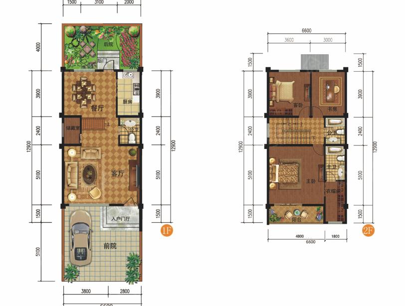 勐宛山水5室2厅5卫户型图