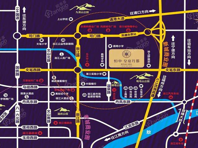 福州连江县购房优选,连江皇庭丹郡让美好成为可能