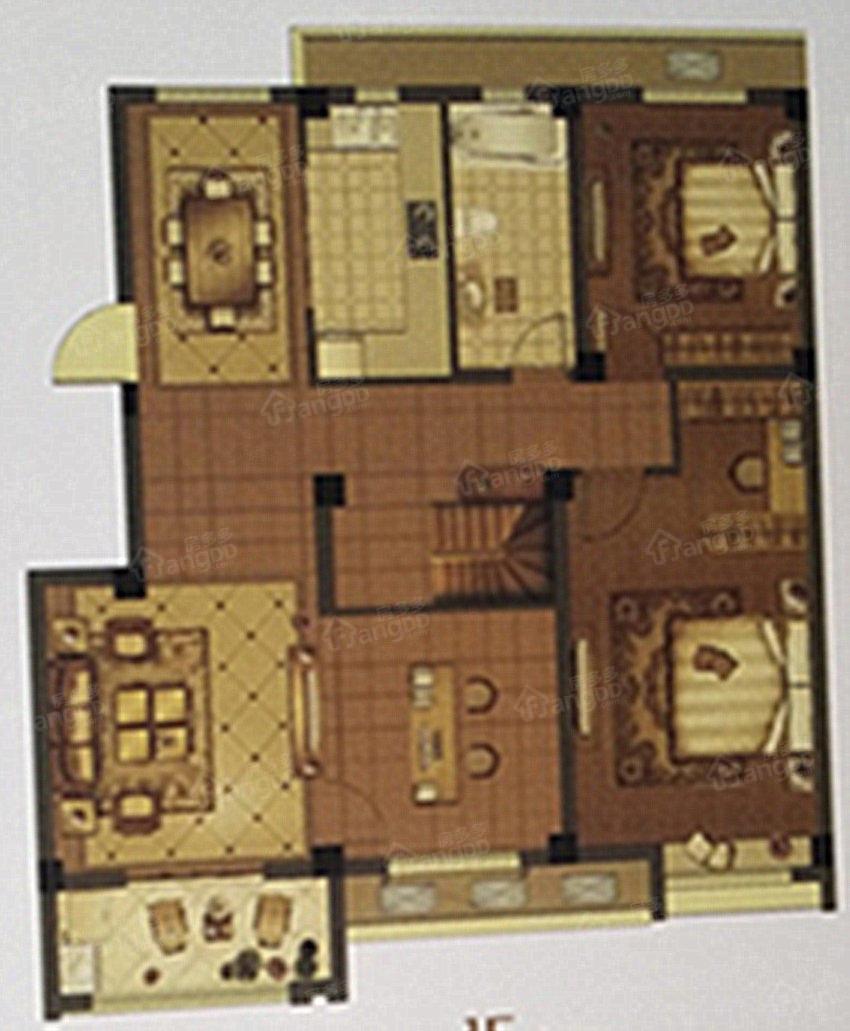 晶城壹号院5室3厅2卫户型图