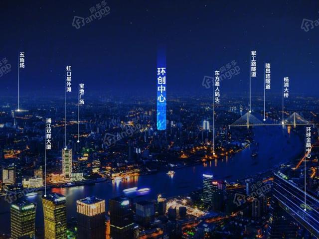 环创中心,置业上海杨浦的性价比首选