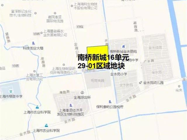 上海奉贤优质新房排名 奉贤南桥新城16单元29-01区域地块最受欢迎
