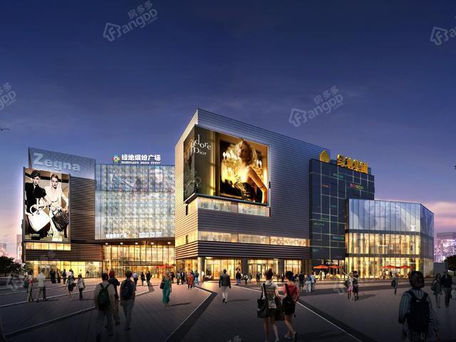 在上海浦东扎根,绿地缤纷广场给你正确的答案