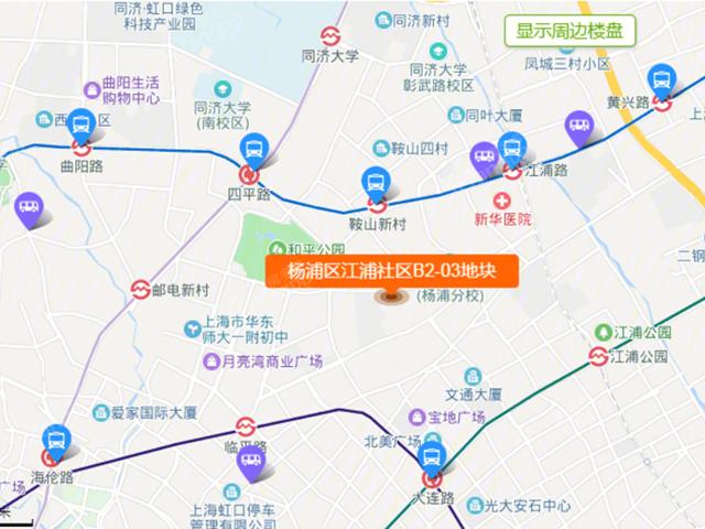 杨浦区江浦社区B2-03地块怎么样 解读杨浦区江浦社区B2-03地块楼盘详情