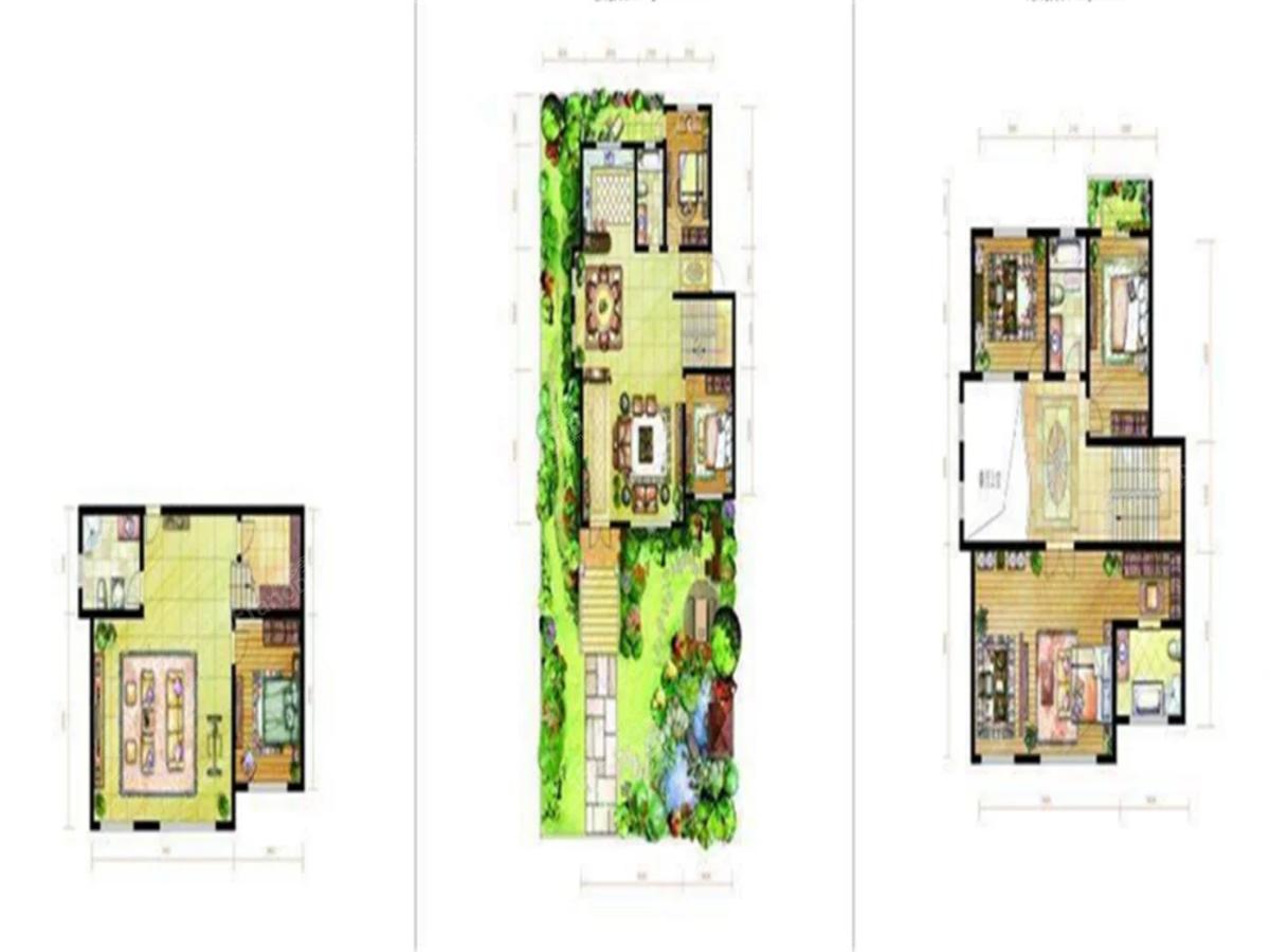 香榭岚庭6室2厅2卫户型图