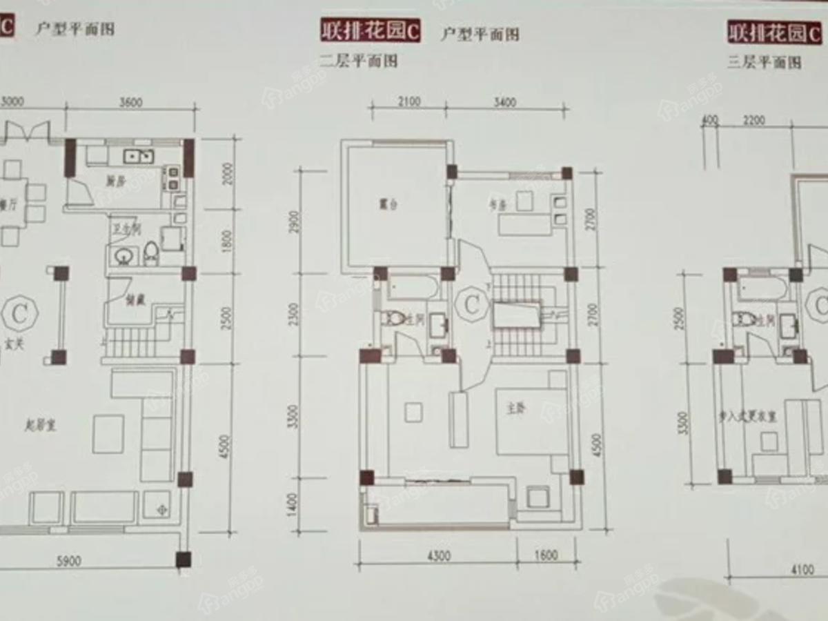 唐源香泉户型图