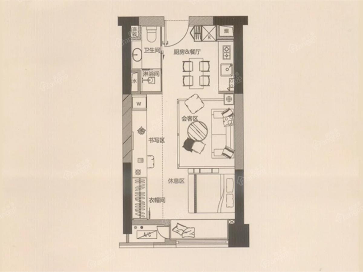 泰达Y-MSD户型图