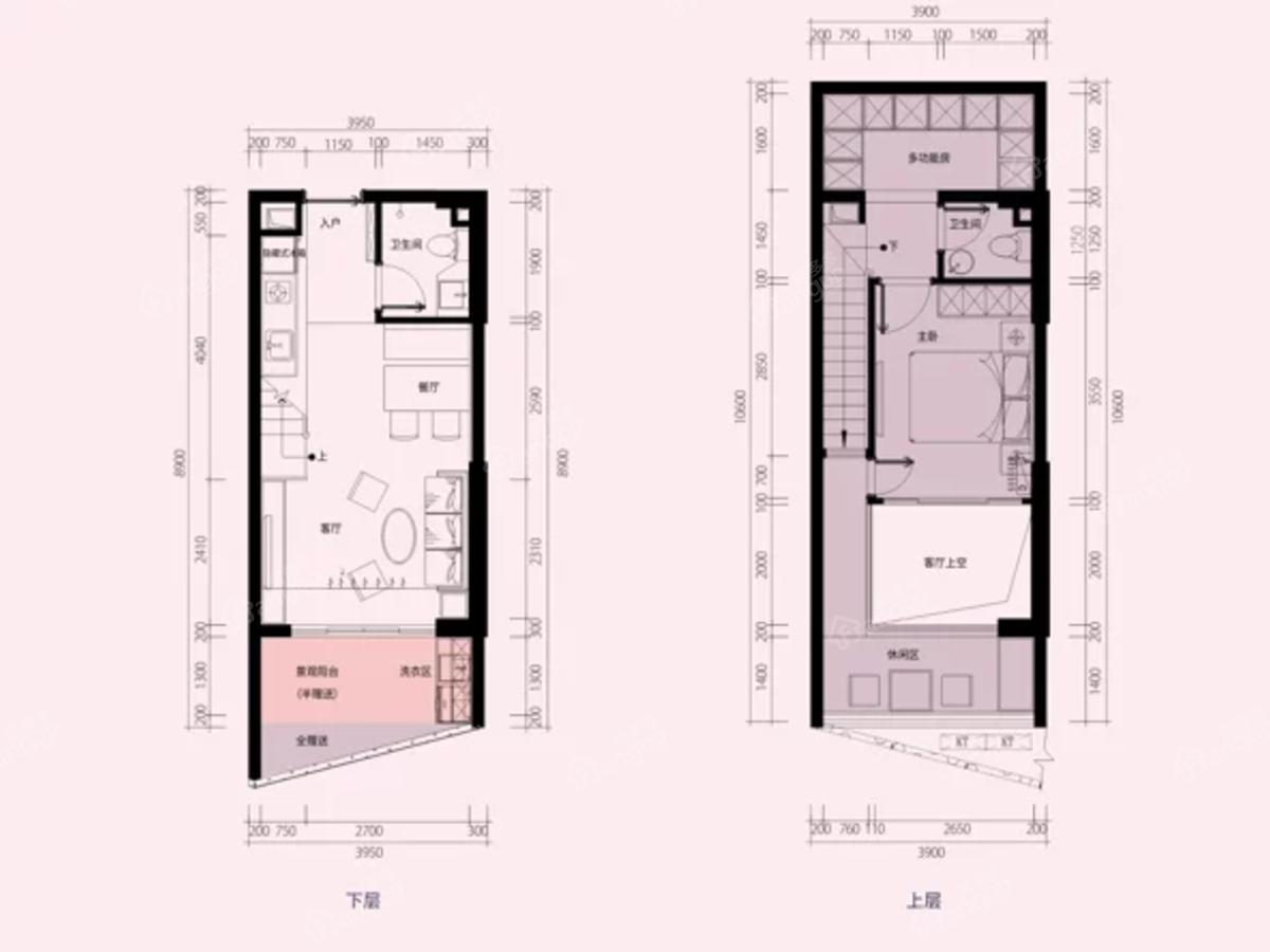 汕尾金融中心公寓户型图