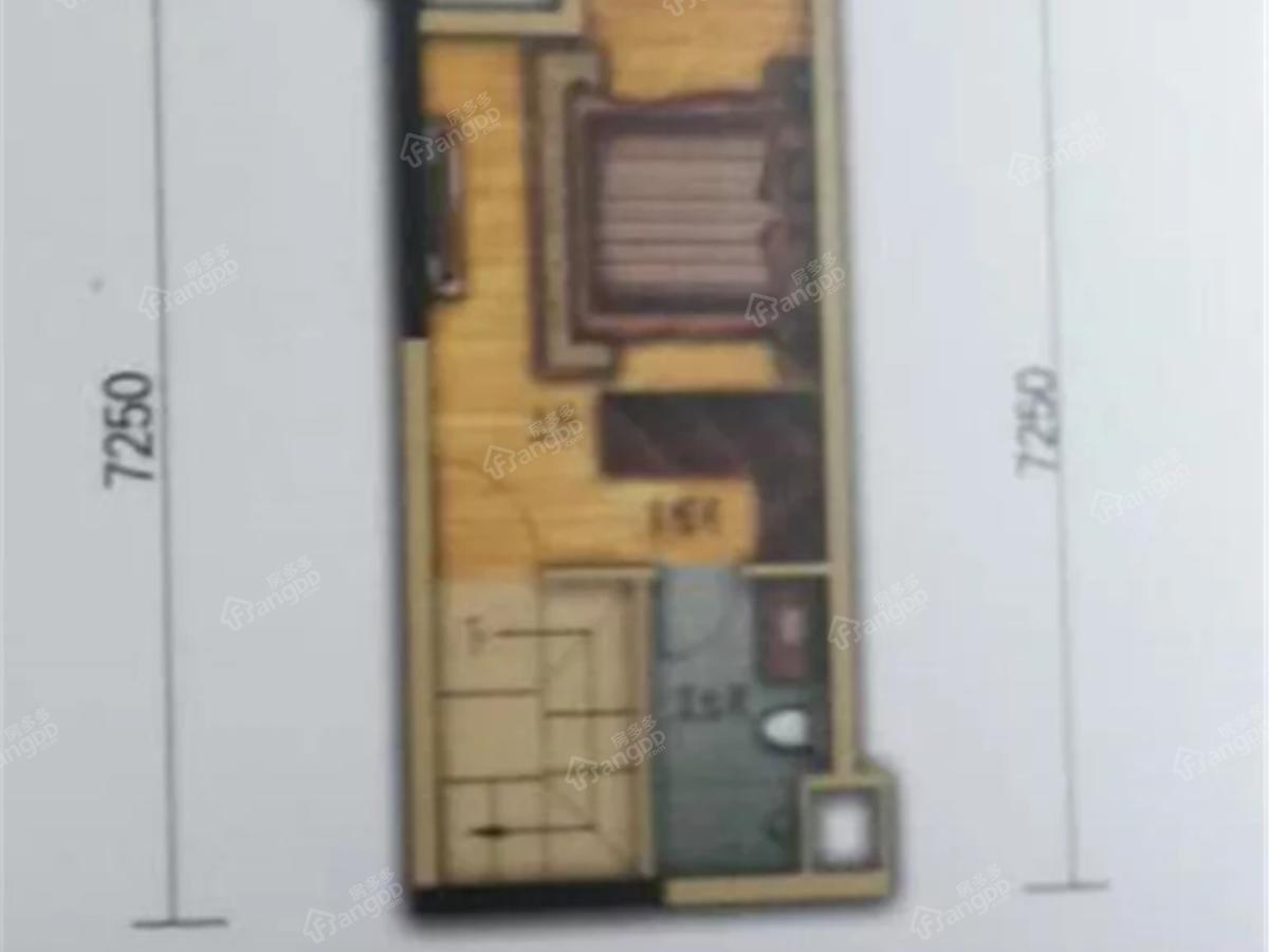置信府4室2厅3卫户型图