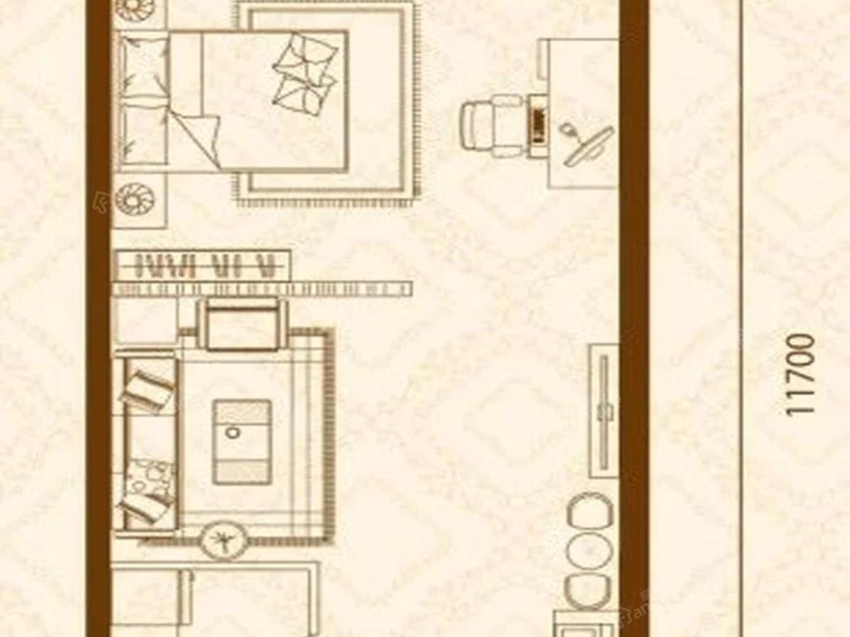 茂业金廊壹号户型图