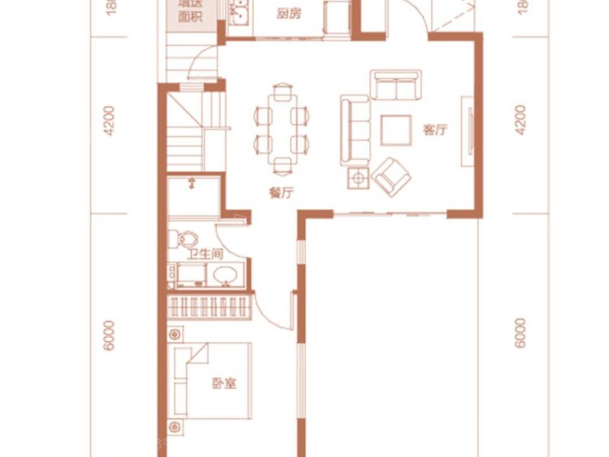 中正·九号4室2厅3卫户型图