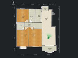 金鼎花苑 3室2厅2卫