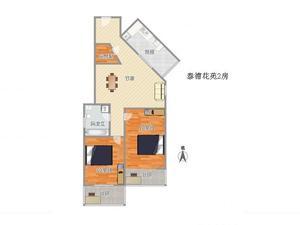 泰德花苑 2居 朝南 电梯房 靠近地铁
