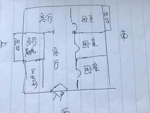 东风乡政府家属院 3室2厅1卫