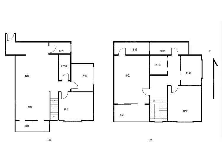 保利花园 东南向电梯复式四房 交通便利 户型图