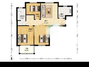 中怡家园 3室1厅1卫