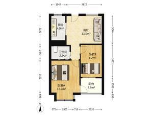 2室1厅1卫
