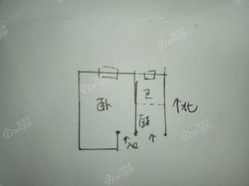 玉田新村 1居 靠近地铁 户型图