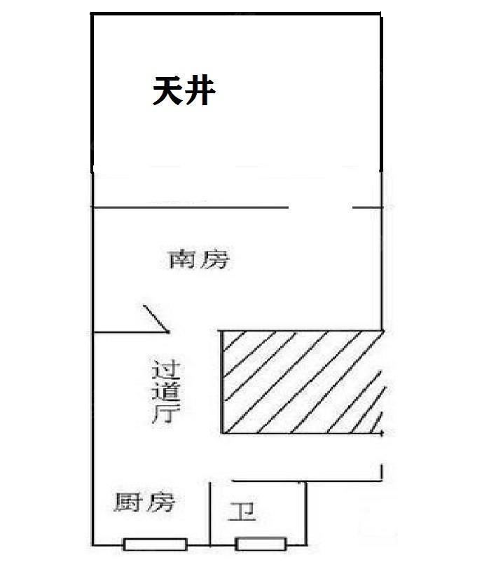上南七村 1居 户型图