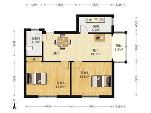 南塘公寓 2居 朝南 靠近地铁 满五唯一