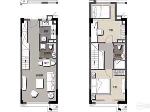 万达广场(周浦) 1室1厅1卫