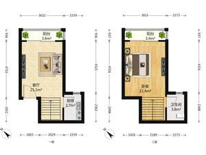 珠江绿洲 1室1厅1卫