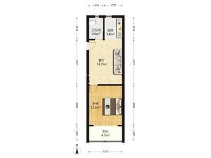 1室1厅1卫