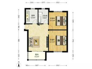 聚缘南庭 2室1厅1卫