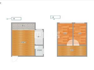 人和莱茵鹭湖 2居 朝南 电梯房 满五唯一
