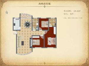 海峡商贸城 3室2厅2卫