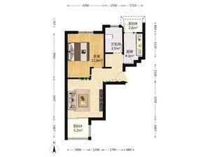 馨佳园七街坊 1室1厅1卫