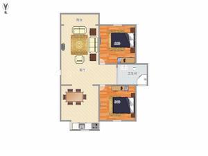 明城海湾新苑 2居 南北通透 电梯房 满五唯一