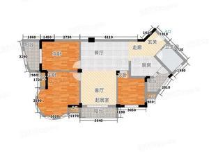 金地怡和东岸 3居 朝东南 电梯房 满五唯一