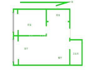 巨华巨海城9区 1居 朝北 电梯房 满五唯一