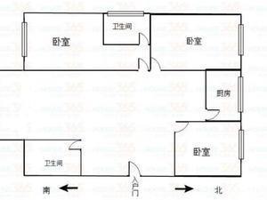 明雅苑 3居 南北通透 电梯房